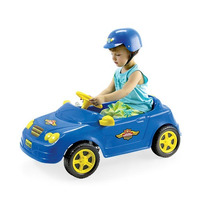 Carro A Pedal - Mercedes Policia C/ Capacete - Homeplay