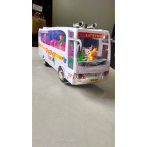 Ônibus De Brinquedo Bate E Volta À Pilha