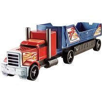 Hot Wheels Caminhão Batida Veículo Azul E Vermelho - Mattel