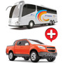 Pick-up S10 Rally+onibus Romabus Executive - Super Promoção