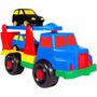 Caminhão Cegonha Com 2 Carrinhos Maptoy Plástico