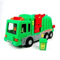 Brinquedo Caminhão De Lixo Garbage Truck Light & Sound