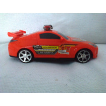 Brinquedo Carro Laranja Da Kidy Resgate Com Mecanismo