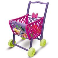 Carrinho Infantil De Compras Supermercado Ou Feira Minnie