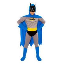 Fantasia Infantil Batman Luxo