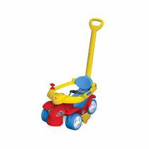 Carrinho De Passeio Infantil Spacecar Colorido Bandeirante
