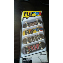 Tech Deck Flip Pack 4 Skates De Dedo Lacrados!