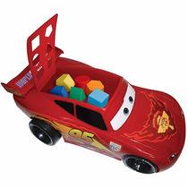 Carro Relâmpago Mcqueen Didático Com Blocos Infantil Toyng