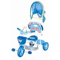 Triciclo Infantil Love Baby Cotiplás Bebê Som E Músicas Azul