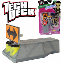 Rampa Tech Deck Finesse+2 Skates De Dedo Lacrada