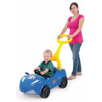 Mini Veículo Infantil A Pedal Com Empurrador Xalingo