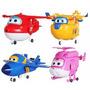 Kit Super Wings Discovery Kids 4 Aviões Grandes