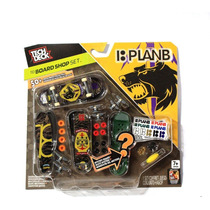 Tech Deck Set De 4 Skate De Dedo Plan B Lacrado!