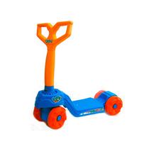 Patinete Infantil Calesita Mini Scooty Boy Azul/laranja