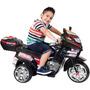 Super Moto Elétrica Infantil Track & Bikes Tf 830 6v Preta