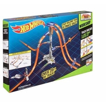 Pista Hot Wheels Track Construtor 5 Lane Torre Starter