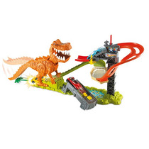 Brinquedo Pista Hot Wheels Pista Ataque Do T-rex Mattel
