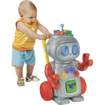 Andador Robô Vermelho - Magic Toys