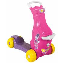 Brinquedo Carrinho Patinete Quadygirl Para Meninas Calesita