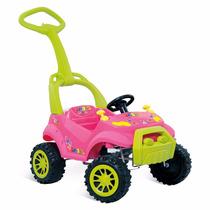 Veiculo Passeio Infantil Bebe Pedal Smart Rosa - Bandeirante
