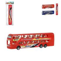 Mini Ônibus Fricção 2 Andares Frete Grátis