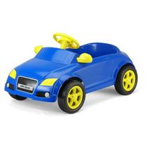 Brinquedo Carrinho De Pedalar Audi Azul Sedan Homeplay+frete