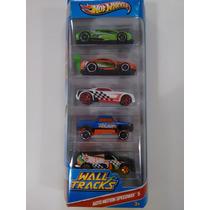 Conjunto Hot Wheels C/ 5 Carrinhos - Auto Motion Speedway