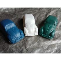 Brinquedo Em Plástico Bolha/fusca Verde/azul E Gelo