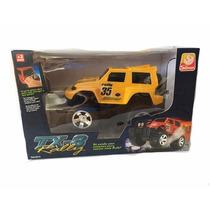 Jeep Tx-8 Rally - Amarelo - Silmar Brinquedos