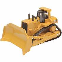 Carrinho Trator De Metal Cat Machines Caterpillar - Dtc 3645