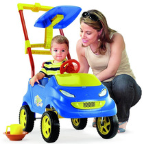 Carrinho Passeio P/ Bebê Baby Car Homeplay