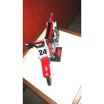 Moto Grande De Brinquedo Cross Honda De Colecionador!