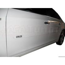Jogo Friso Lateral Pintado Cruze 2012 A 15 Hatch Ou Sedan