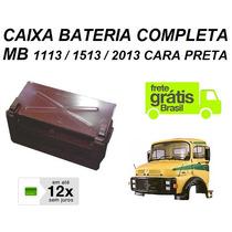 Caixa Bateria Caminhao Mb 1313 1513 Cara Preta 3445407014