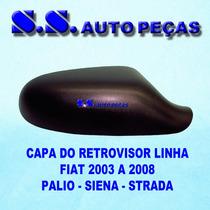 Capa Retrovisor Palio Siena Strada 03 A 2008 Peça Original