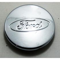 Calota Cromada Da Roda Aro 14 Ford Fiesta Original 2004/2013