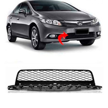 Grade Inferior Central Parachoque Honda Civic 2012 2013 2014