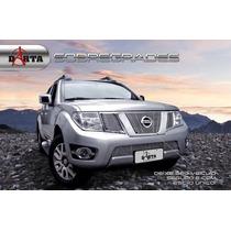 Sobre Grade Aço Inox Nissan Frontier 2014 Em Diante