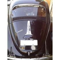 Gravata Traseira Carro Fusca Inox Tuning Tampa Motor Capô