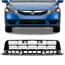 Grade Parachoque New Civic 2009 2010 2011 Inferior Central ,