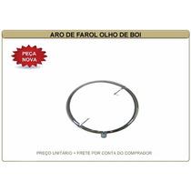 Aro De Farol Vw Fusca Olho De Boi 63/72 Kombi Antiga Ferro