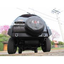 Para-choque Traseiro Para Mitsubishi Pajero Tr4 2010 A 2015
