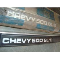 Friso Lateral Chevy 500 Sl/e Novo Original Gm