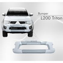 Bumper Overbumper L200 Triton Branco Alpino 2010/2012