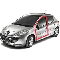 Borracha Carroceria Da Porta Peugeot 207 Dianteira Esquerda