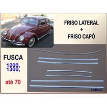 Friso Lateral E Capô Fusca 1200 1300 Até 1970 Largo Jogo