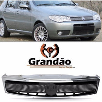 Grade Radiador Palio Strada Siena 2004 2005 2006 2007 Cromad
