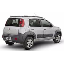 Moldura Parachoque Traseiro Fiat Novo Uno 11-14