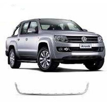 Amarok Friso U Cromo Central Do Parachoque Dianteiro