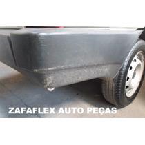 Para-choque Traseiro Direito Fiat Fiorino 2002 - Zafaflex